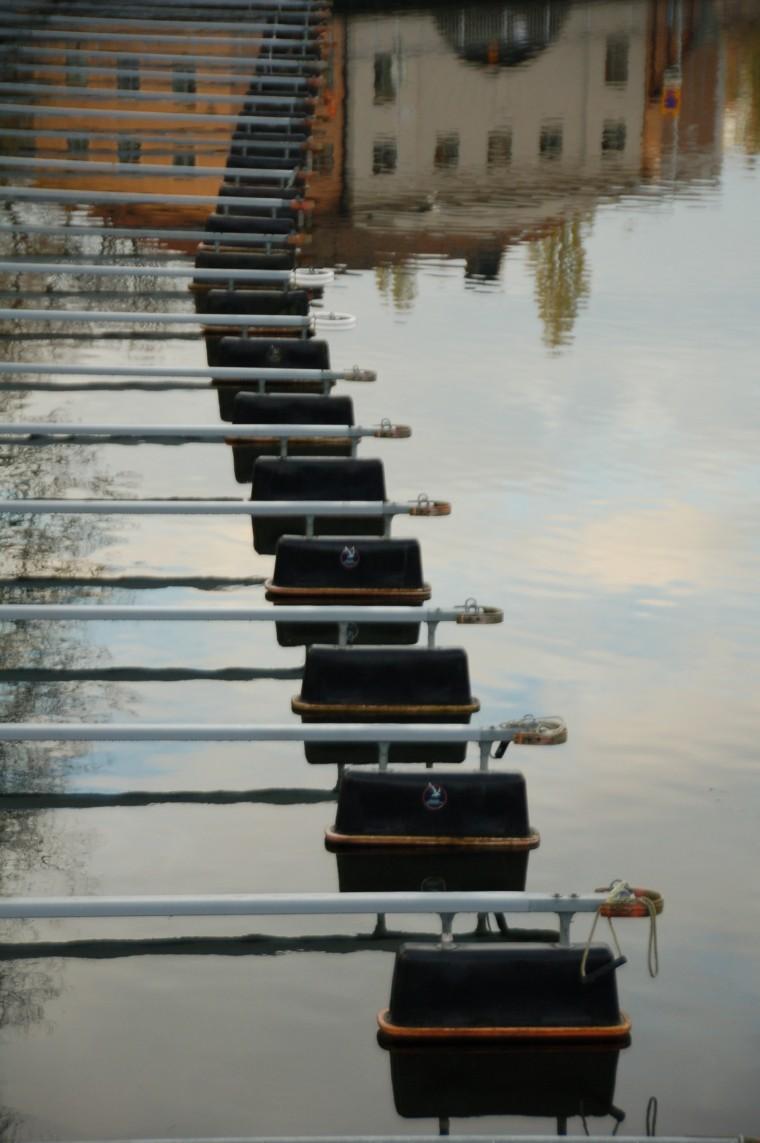 Vilsamma vatten, tänker Anne-Marie Körling som fotograferar alltsammans, 2008