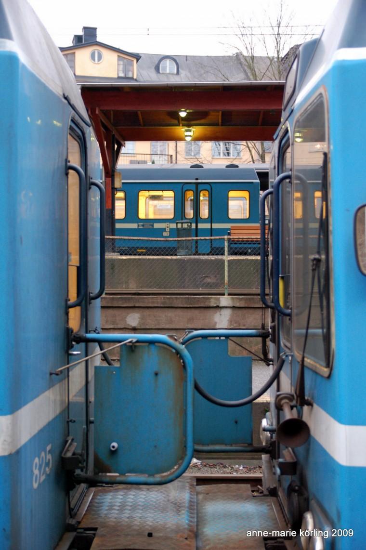 Tåg är tåg om och på gyllene rälsor, fnittrar Anne-Marie Körling, 2009