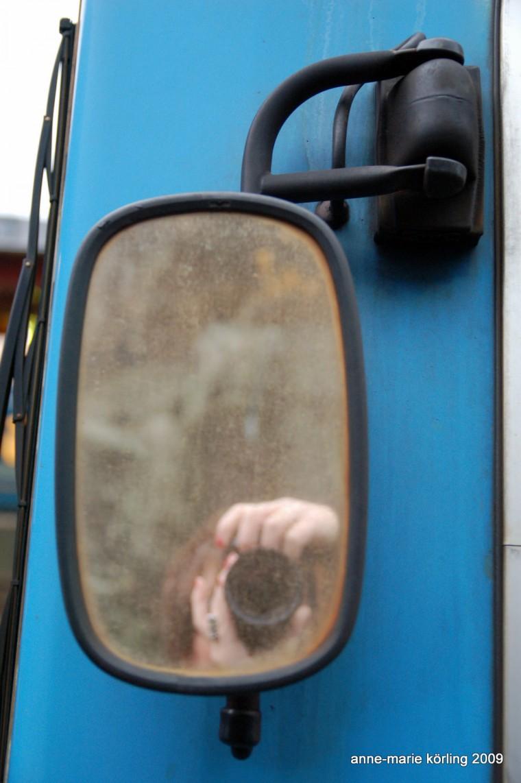 En dag i november tågspanar Anne-Marie Körling på allt möjligt, 2009
