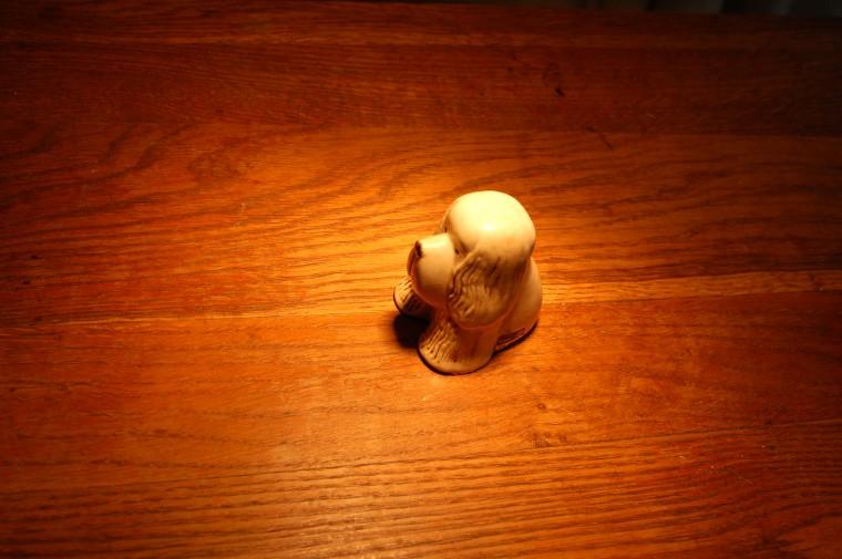Ensamhetens lilla hund