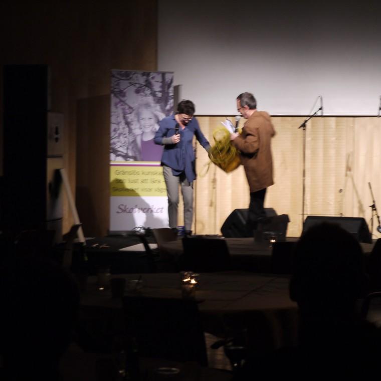 Jag och Jan skådespelar för en hel myndighet 2009