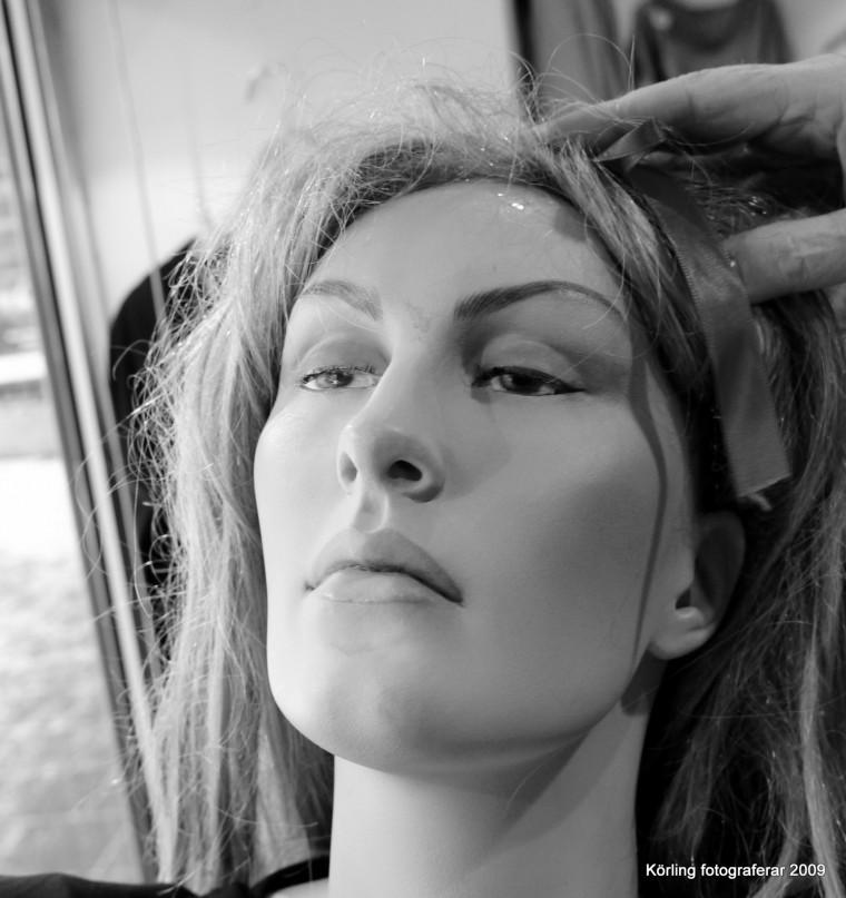omsorg om en skyltdocka - körling fotograferar 2009