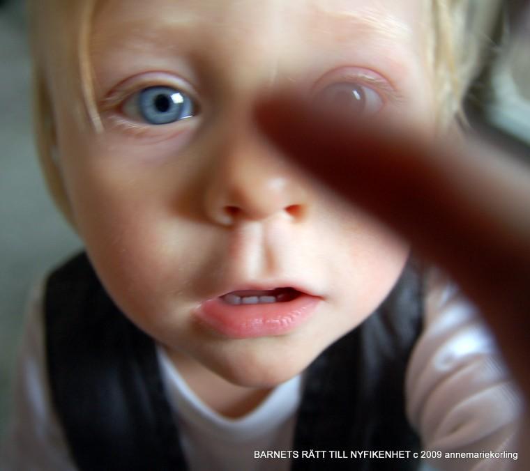 Barnets nyfikenhet-Körling fotografer 2009