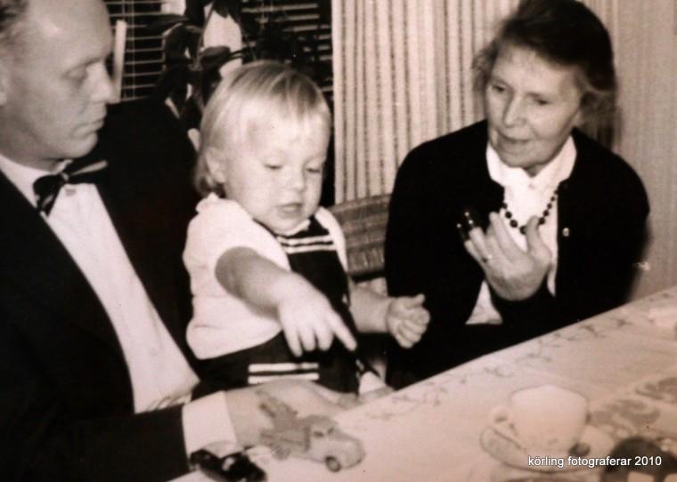 Körling minns i fotoalbumet 1959