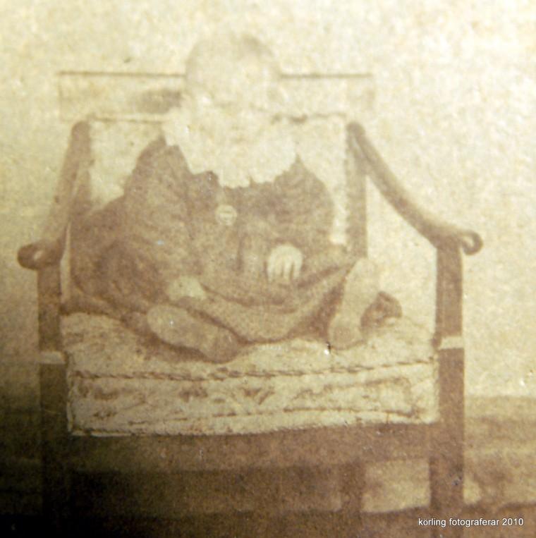 Körling fotograferar ur familjealbumet 2010