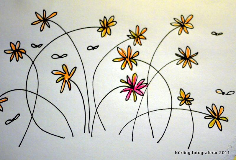 Jag vill skänka några blommor till alla nyblivna lärare i skolorna idag! Och till alla andra också.
