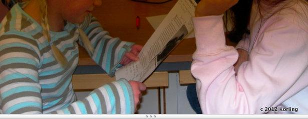 Körling om text och läsning