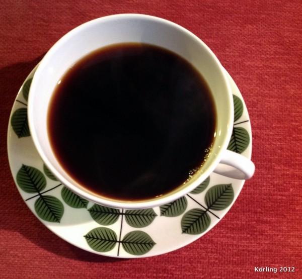 Röd kaffekopp - körling fotograferar 2013