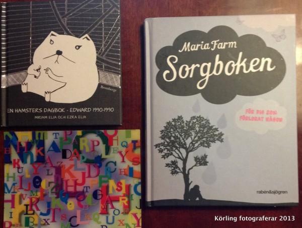 Böcker med post körling fotograferar 2013