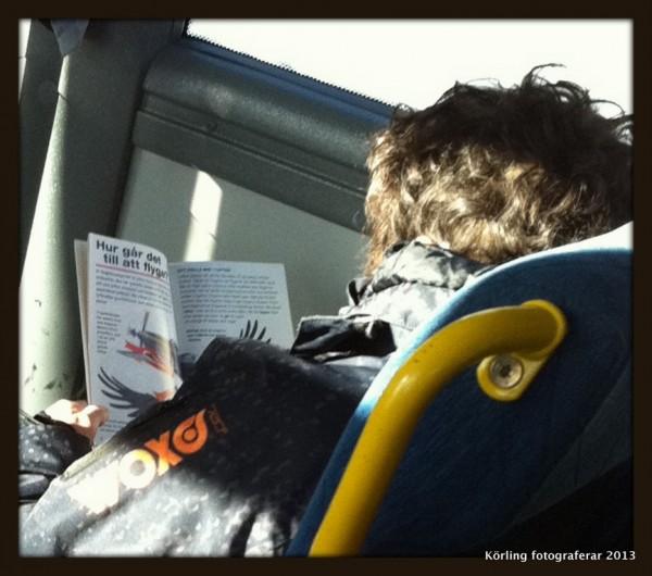 LÄSANDE BARN! Var nyfiken på ett läsande sätt. Vad läser du? Berätta!