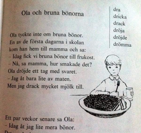 Ur en gammal undervisningsbok