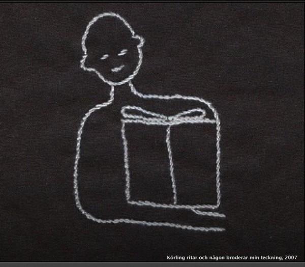 Körling broderad läsning 2006
