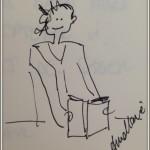 Jag läser, en liten teckning, A-M Körling-001