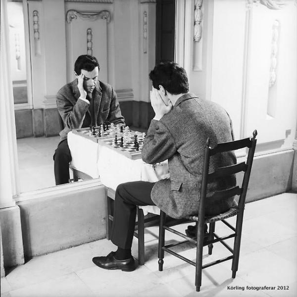 Rene Maltete, echecs (Chess)