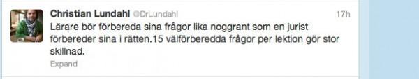 Christian Lundahl twitter 2013-04-10