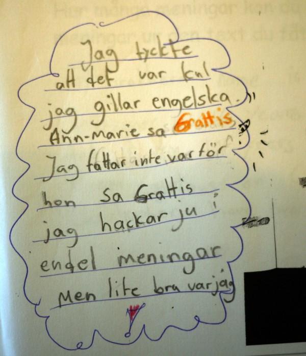 Körling undervisar 2006