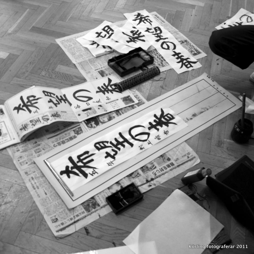 Jag besöker ett japanskt klassrum Körling fotograferar 2011