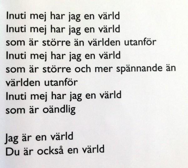 Inutitexten Per Nilsson Ett annat sätt att vara ung, 2000