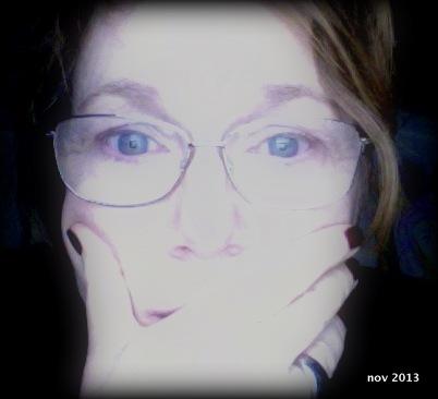 Jag läser - Anne-Marie Körling selfie 2013