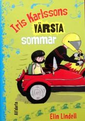 Iris Karlssons värsta sommarlov omslag