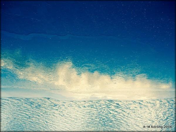 Snö, vatten, himmel av Anne-Marie Körling