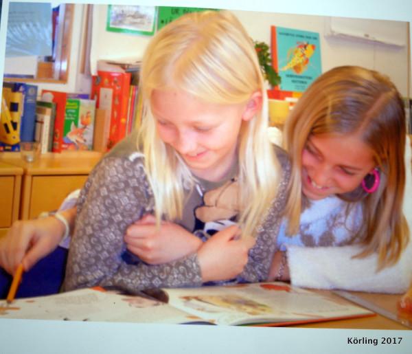 Att få prata om bokens innehåll. Ur mitt klassrum 2004.