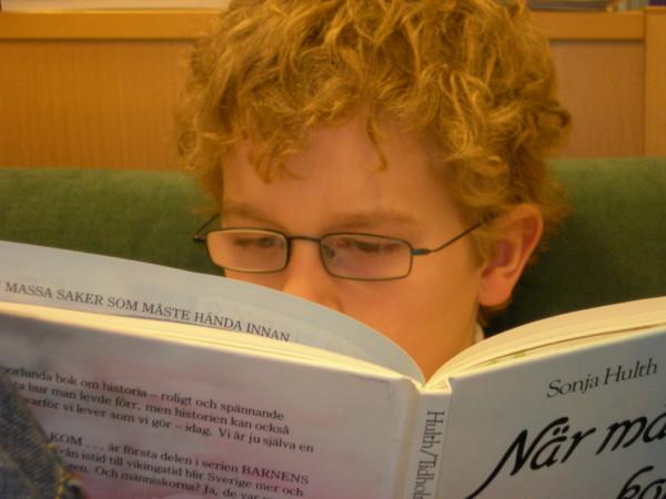 Självständig läsning i mitt klassrum 2002