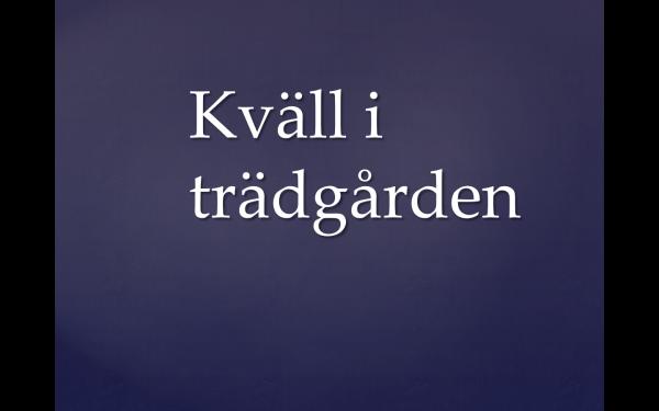 Ur diktsamlingen Sardinen på tunnelbanan valda av Margareta Schildt, Alfabeta förlag,  1997