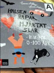 Adbåge, Lisen/Adbåge, Emma Halsen rapar Hjärtat slår Rim för 0-100 år Natur och Kultur